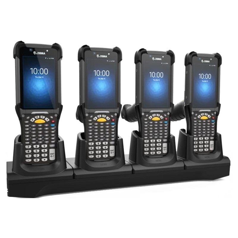 Zebra CRD-MC93-4SCHG-01 cargador de dispositivo móvil Interior Negro