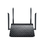 ASUS RT-AC1200G wireless router Dual-band (2.4 GHz / 5 GHz) Gigabit Ethernet Black