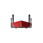 D-Link AC3150 wireless router Dual-band (2.4 GHz / 5 GHz) Gigabit Ethernet Grey, Red