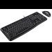 Logitech MK120 teclado USB QWERTY Internacional de EE.UU. Negro