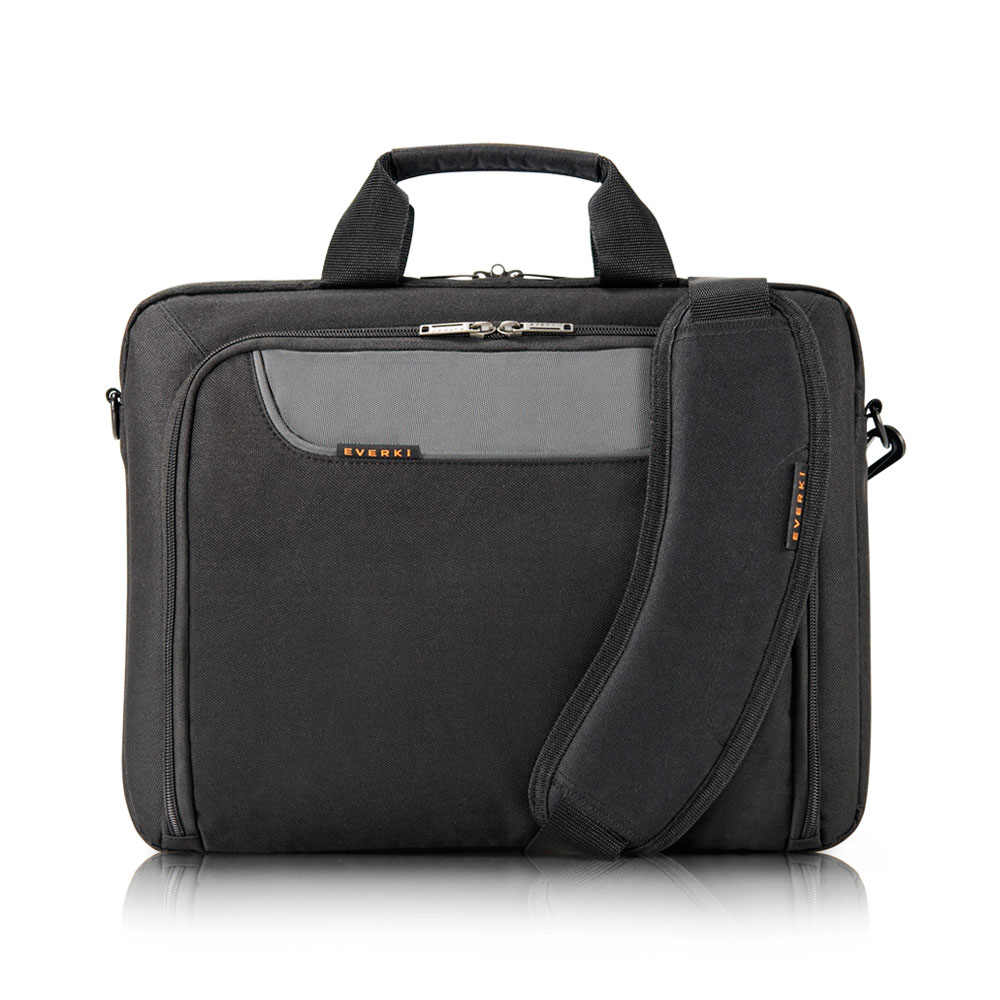 "Everki EKB407NCH14 notebook case 35.8 cm (14.1"") Briefcase Black"