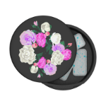 PopSockets PopGrip Stash Vintage Bouquet Mobile phone/Smartphone Black Passive holder