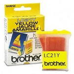 Brother LC21Y yellow ink cartridge