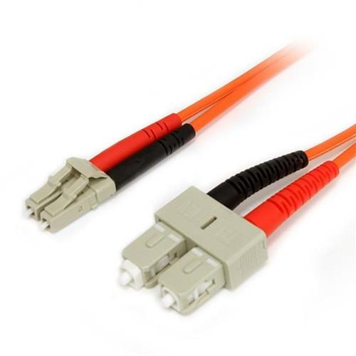 StarTech.com 1m Multimode 62.5/125 Duplex Fiber Patch Cable LC - SC