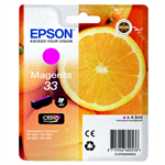 Epson C13T33434012 (33) Ink cartridge magenta, 300 pages, 5ml
