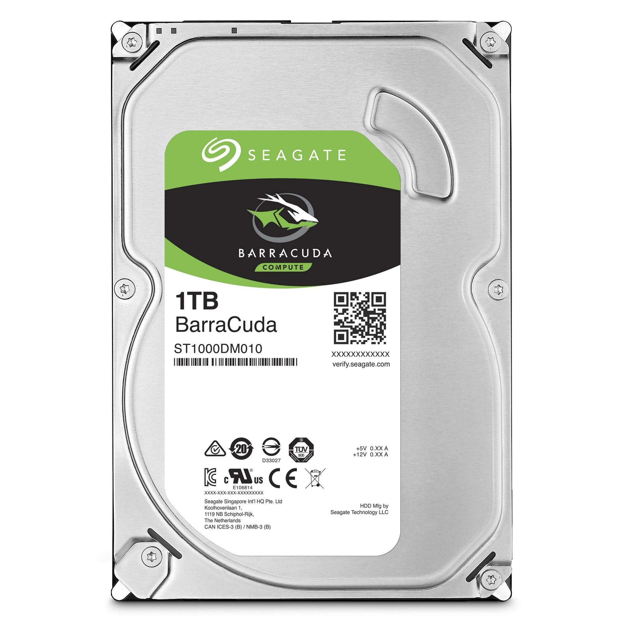 Seagate Barracuda 1000GB Serial ATA III internal hard drive