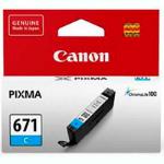 CANON CLI671 INK CARTIRDGE CYAN