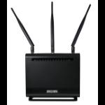 Billion BIPAC8700AXL-1600 wireless router Gigabit Ethernet Dual-band (2.4 GHz / 5 GHz) 3G 4G Black