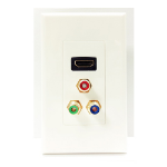 4XEM 4XWALLHDMIRCA outlet box White