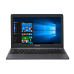 "ASUS E203MA-FD017TS notebook Gray 29.5 cm (11.6"") 1366 x 768 pixels Intel® Celeron® 4 GB LPDDR4-SDRAM 64 GB eMMC Wi-Fi 5 (802.11ac) Windows 10 Home"