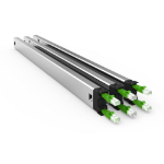 PATCHBOX Plus+ STP Long Range Rack Cable tray Black, Green, Silver 3pc(s)