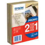 Epson Premium Glossy Photo Paper - (2 for 1), 100 x 150 mm, 255g/m², 80 Sheets C13S042167