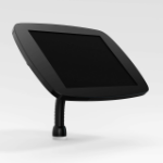 Bouncepad Flex   Microsoft Surface Pro 4/5/6/7 (2015 - 2019)   Black   Covered Front Camera and Home Button  
