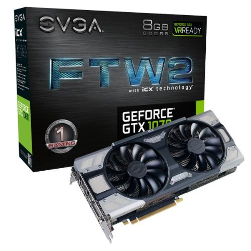 EVGA 08G-P4-6676-KR graphics card GeForce GTX 1070 8 GB GDDR5