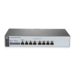 Hewlett Packard Enterprise 1820-8G Managed L2 Gigabit Ethernet (10/100/1000) 1U Gray