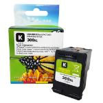 Remanufactured HP 300XL Black Ink Cartridge