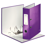 Leitz 180° WOW ring binder A4 Purple