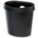 Avery DR500BLK 18L Round Plastic Black trash can