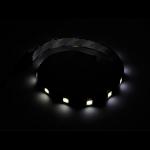 SilverStone LS01 White LED Strip, 30cm, 15x LED. 12v (LS)