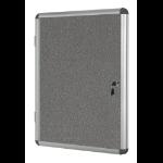 Bi-Office VT620107150 bulletin board Fixed bulletin board Aluminium,Blue Aluminium,Felt