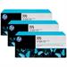 HP CR254A (771) Ink cartridge bright magenta, 775ml, Pack qty 3