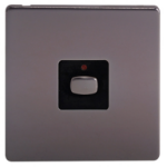 EnerGenie MIHO024 light switch Black,Nickel