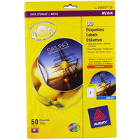 Full Face Inkjet Cd Labels Glossy 117mm (25)
