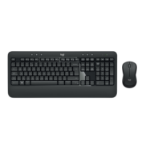 Logitech MK540 Advanced keyboard RF Wireless QWERTZ German Black, White