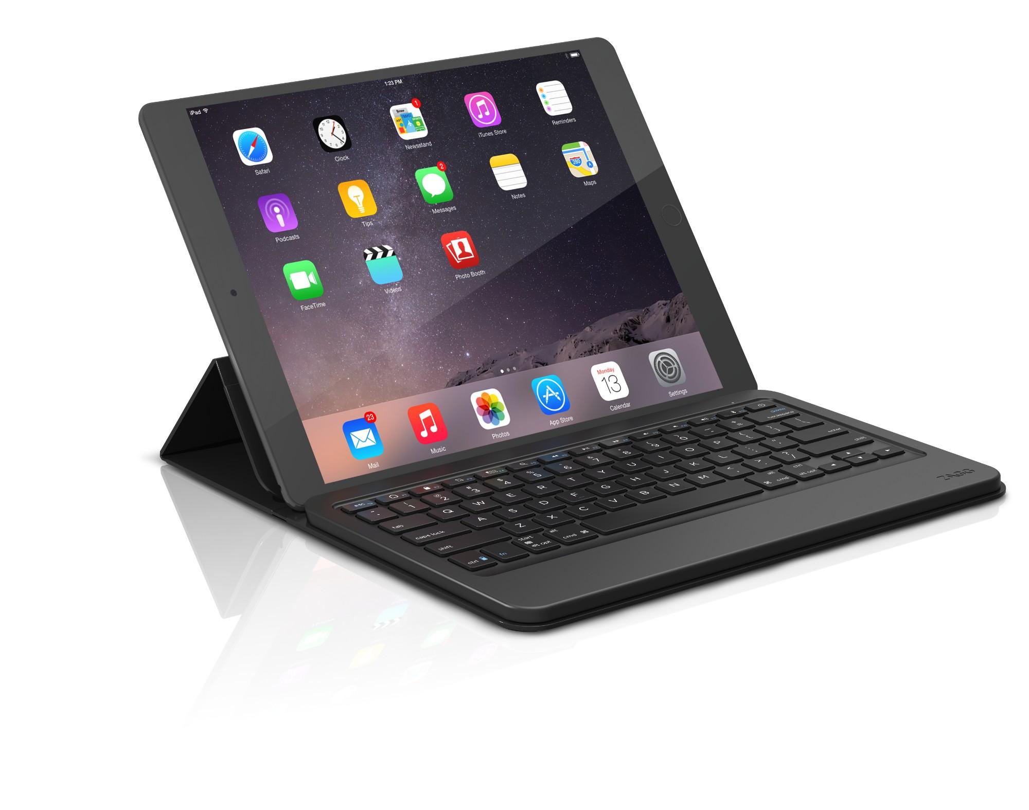 ZAGG Messenger universal toetsenbord voor mobiel apparaat QWERTY Brits Engels Zwart Bluetooth