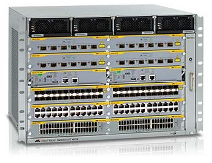 Allied Telesis AT-SBX8112 network equipment chassis Grey