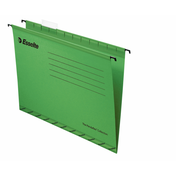 Esselte Pendaflex Economy Suspension File Foolscap Green 25-pk