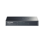 TP-LINK TL-SG1008P Gigabit Ethernet (10/100/1000) Power over Ethernet (PoE) Grey network switch