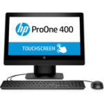 "HP ProOne 400 G3 3.4GHz i5-7500 20"" 1600 x 900pixels Touchscreen Black All-in-One PC"