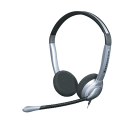 Sennheiser SH 350 Headset Black,Silver