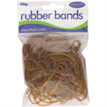COUNTY RUBBER BANDS NATURAL 50GMS