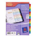 Avery ReadyIndex Dividers Multicolour divider