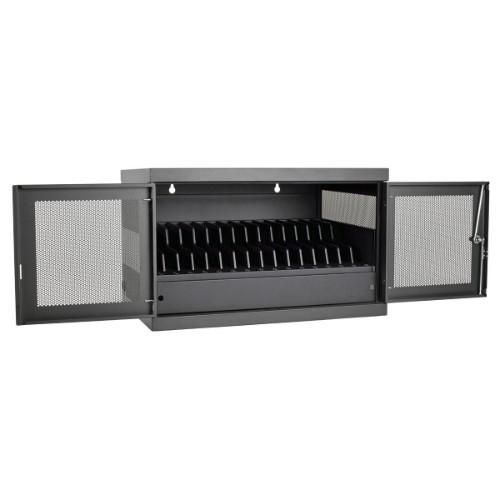 Tripp Lite CSC16USB Portable device management cabinet Black
