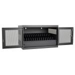 Tripp Lite CSC16USB portable device management cart/cabinet Portable device management cabinet Black