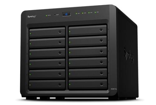 Synology DiskStation DS3617xs Ethernet LAN Tower Black NAS