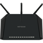 Netgear R6400 router inalámbrico Doble banda (2,4 GHz / 5 GHz) Gigabit Ethernet Negro