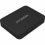 Hyundai Mini PC Desktop Computer Intel® Celeron® 4 GB DDR4-SDRAM 64 GB SSD All-in-One PC Windows 10 Pro Wi-Fi 5 (802.11ac) Black