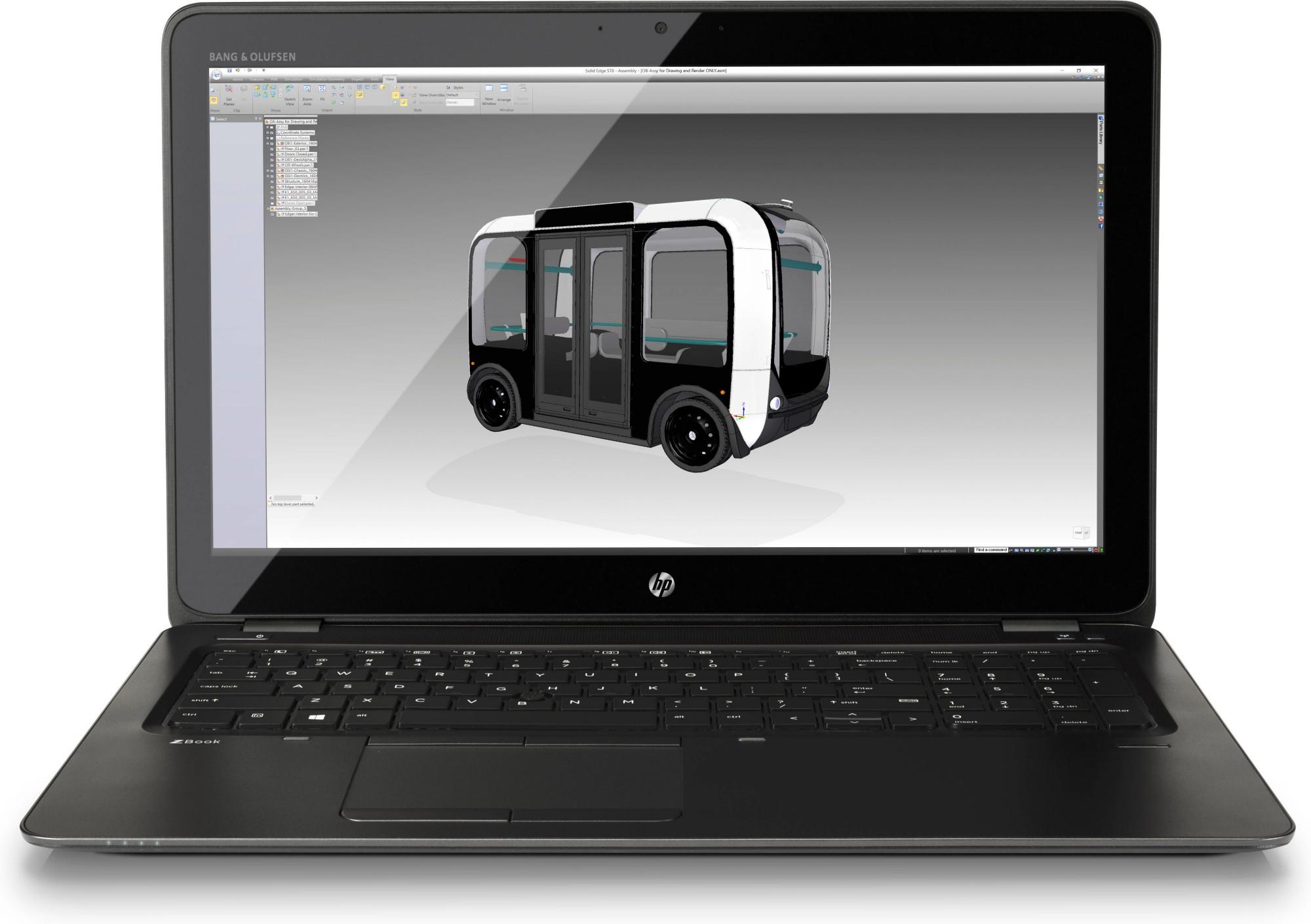 HP ZBook 15u G4 Y6K02EA#ABU Core i7-7500U 16GB 512GB SSD 15.6IN BT CAM Win 10 Pro