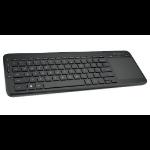 Microsoft N9Z-00022 RF Draadloos QWERTY Engels Grafiet toetsenbord
