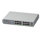 Allied Telesis AT-GS910/16 network switch Unmanaged Gigabit Ethernet (10/100/1000) Grey