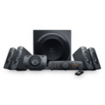 LOGITECH Z906 5.1 Channel THX Certified Speaker System THX® Certified 1000-watt peak power Dolby digital soun