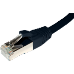 Cablenet 65 6030 networking cable 3 m Cat6a S/FTP (S-STP) Black