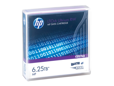 HP LTO-6 Ultrium 6.25TB MP RW Eco Case Data Cartridge 20 Pack