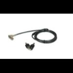 Port Designs 901200 cable lock Black