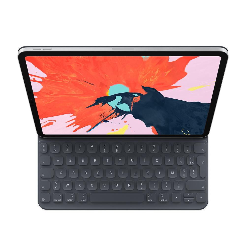 Apple MU8G2F/A mobile device keyboard AZERTY French Black