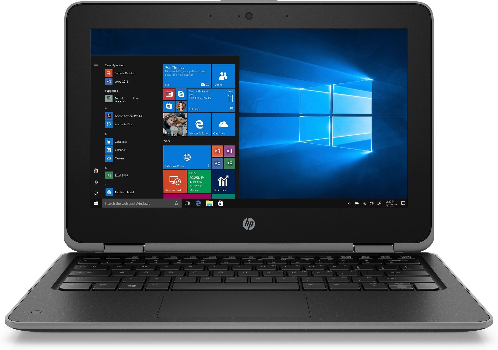 HP ProBook x360 11 G3 EE Hybrid (2-in-1) Black 29.5 cm (11.6